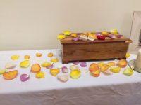 rituel pétales de roses